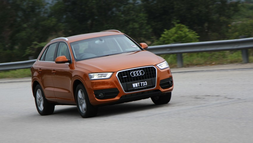 Audi Q3 2.0 TFSI 170hp Test Drive Review Image #115493