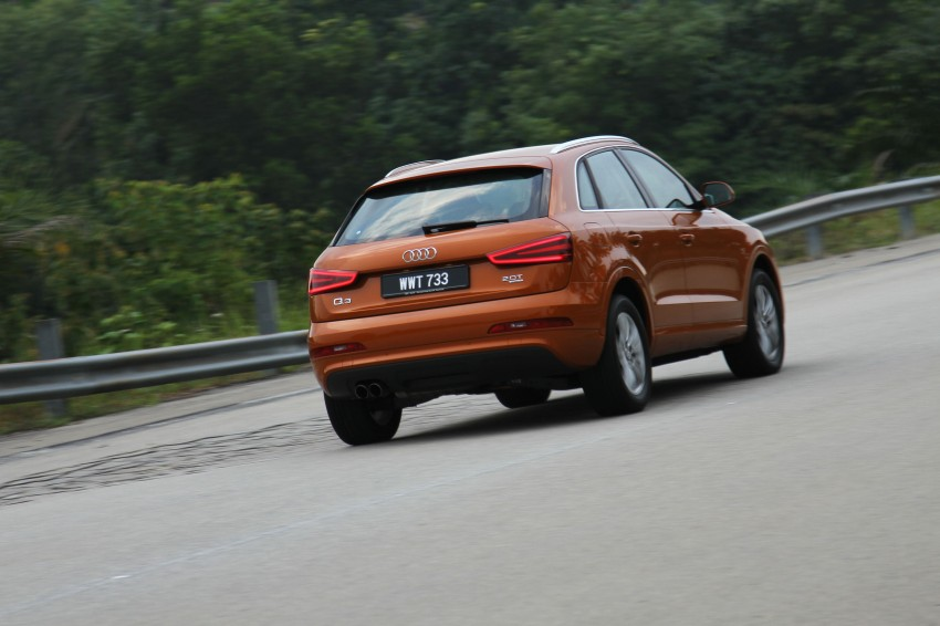 Audi Q3 2.0 TFSI 170hp Test Drive Review Image #115299