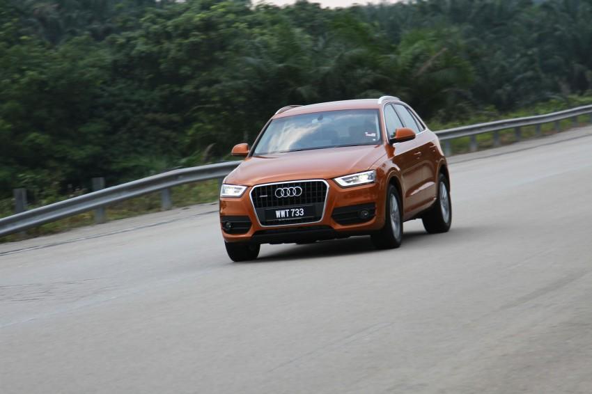 Audi Q3 2.0 TFSI 170hp Test Drive Review Image #115300
