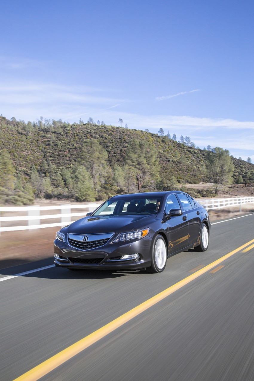 GALLERY: All-new 2014 Acura RLX – Honda's 5-Series Image #155077