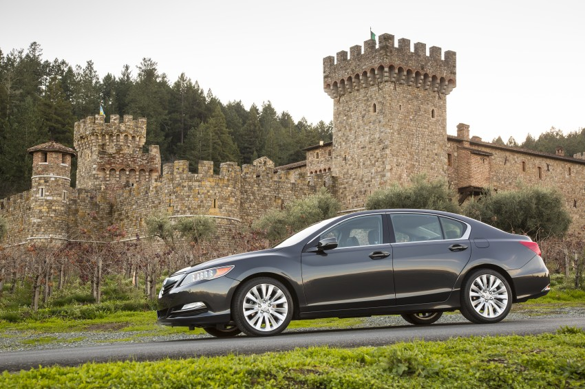 GALLERY: All-new 2014 Acura RLX – Honda's 5-Series Image #155091