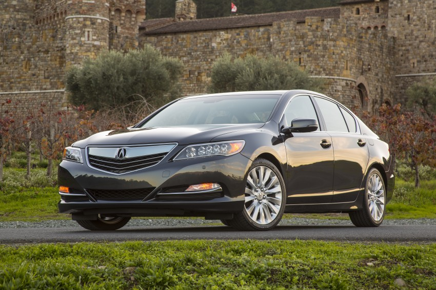 GALLERY: All-new 2014 Acura RLX – Honda's 5-Series Image #155156
