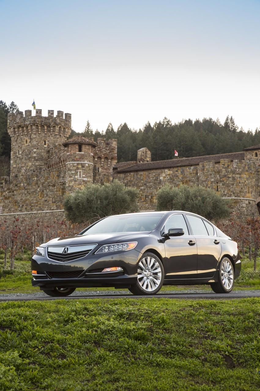 GALLERY: All-new 2014 Acura RLX – Honda's 5-Series Image #155204