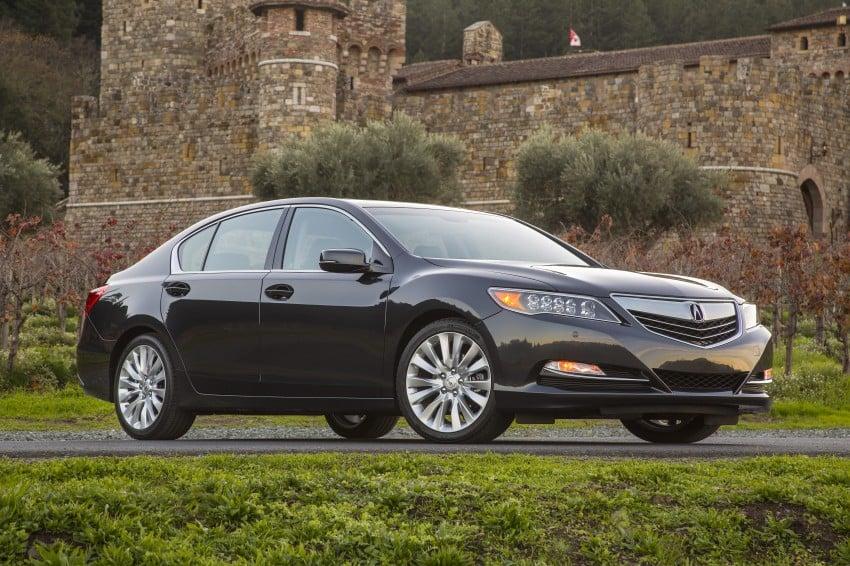 GALLERY: All-new 2014 Acura RLX – Honda's 5-Series Image #155216