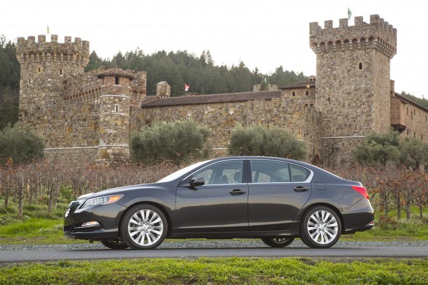 GALLERY: All-new 2014 Acura RLX – Honda's 5-Series Image #155212
