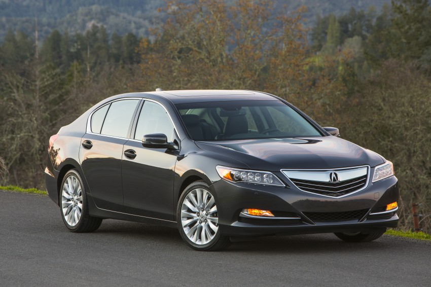 GALLERY: All-new 2014 Acura RLX – Honda's 5-Series Image #155192
