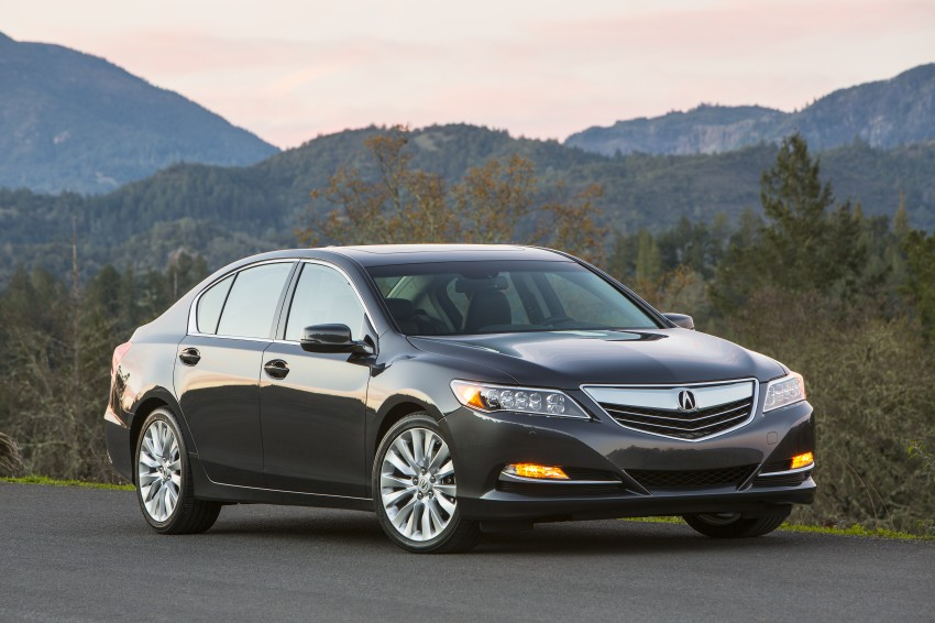 GALLERY: All-new 2014 Acura RLX – Honda's 5-Series Image #155222