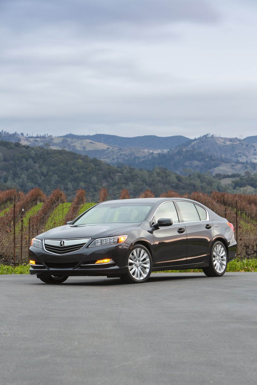 GALLERY: All-new 2014 Acura RLX – Honda's 5-Series Image #155090