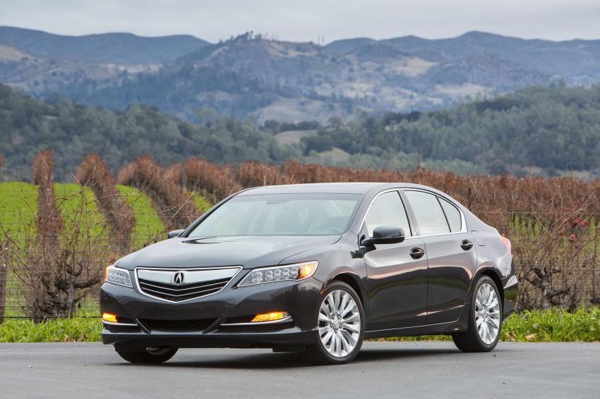 GALLERY: All-new 2014 Acura RLX – Honda's 5-Series Image #155199
