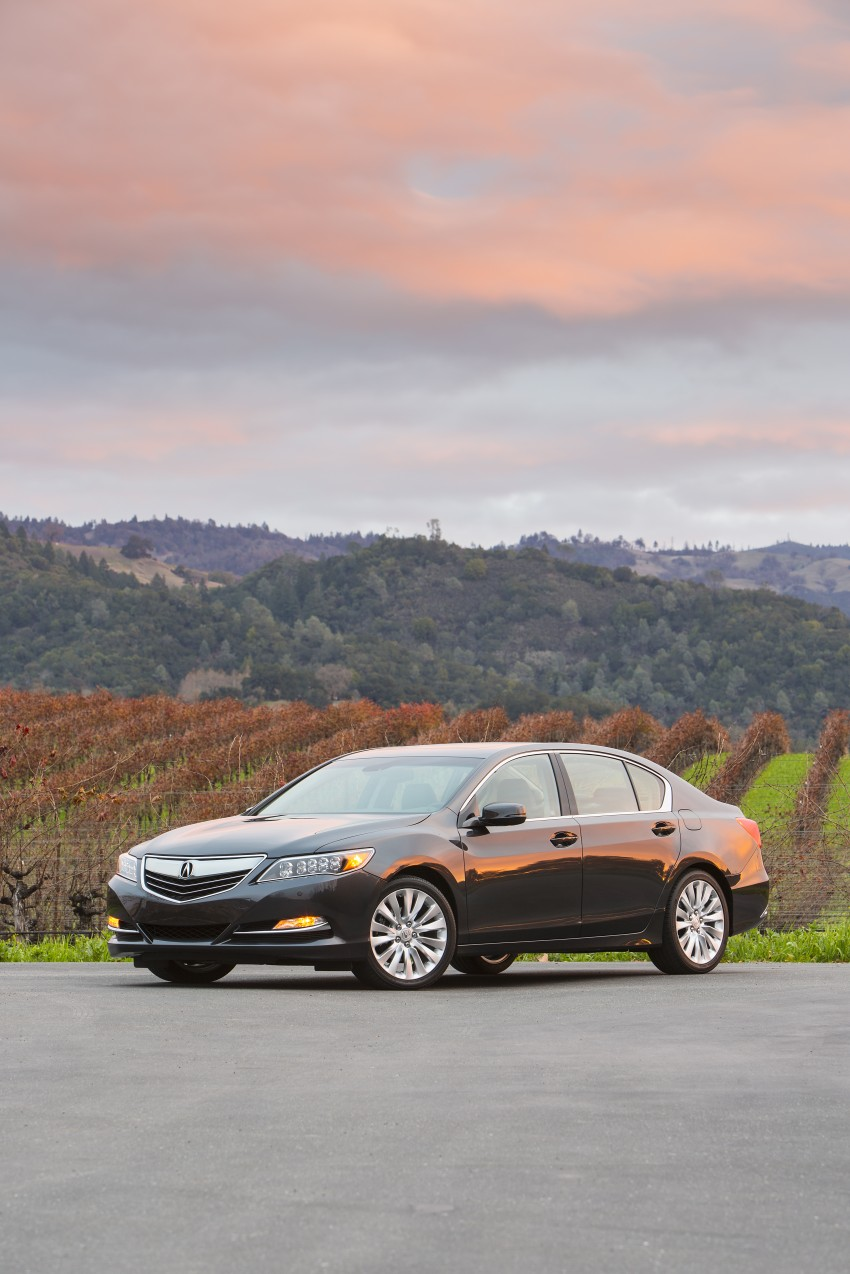 GALLERY: All-new 2014 Acura RLX – Honda's 5-Series Image #155198
