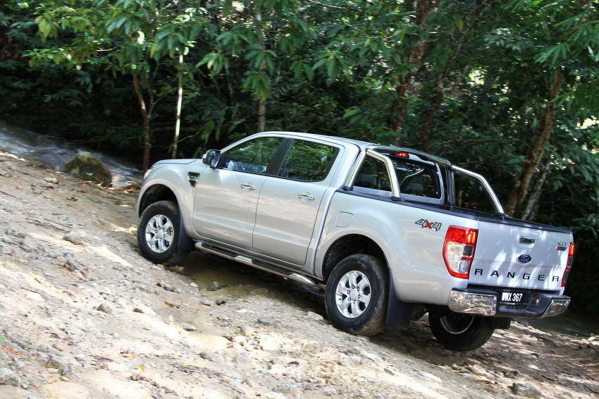 TESTED: Ford Ranger XLT 2.2 Manual driven in all jungles – the concrete one and the green-muddy one Image #116850