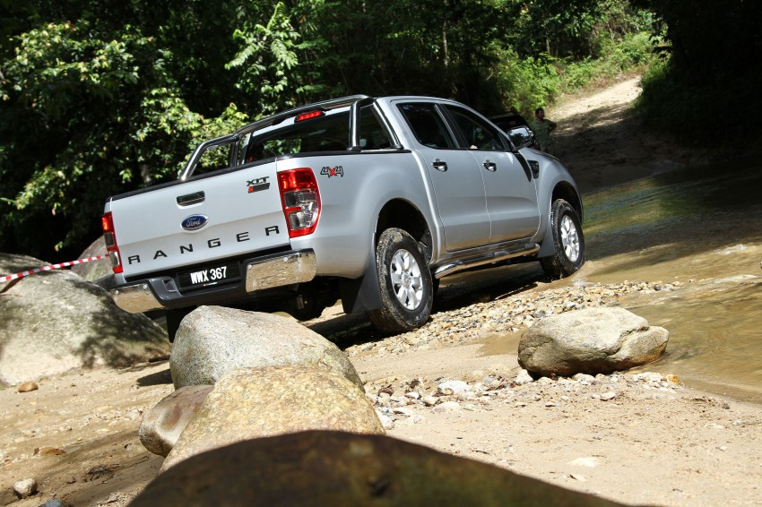 TESTED: Ford Ranger XLT 2.2 Manual driven in all jungles – the concrete one and the green-muddy one Image #116821