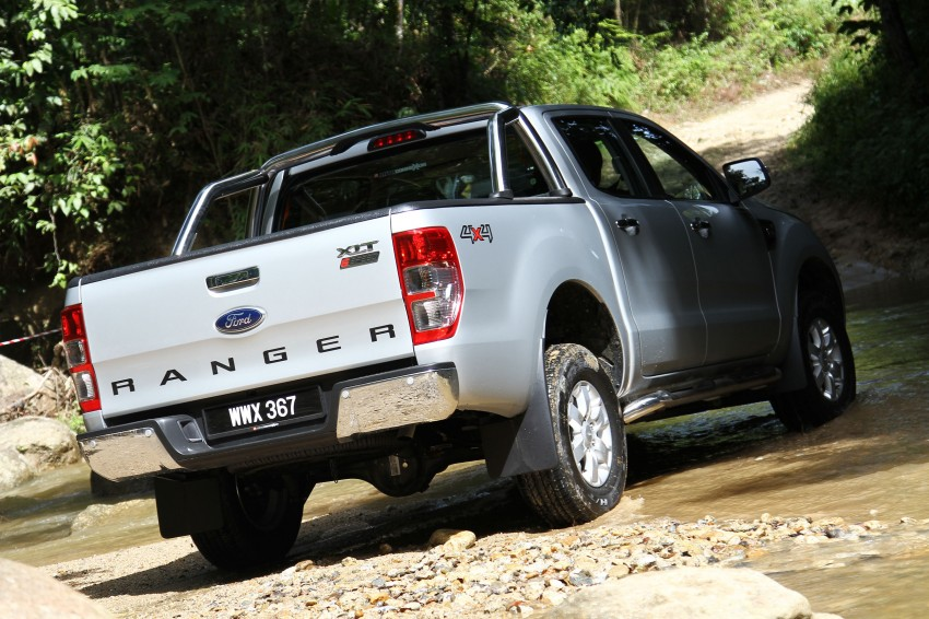 TESTED: Ford Ranger XLT 2.2 Manual driven in all jungles – the concrete one and the green-muddy one Image #116822