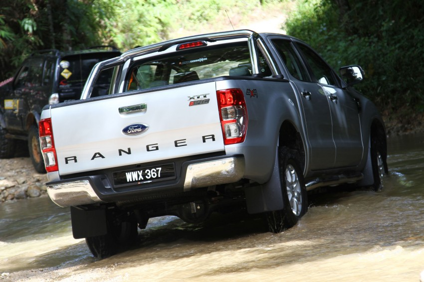 TESTED: Ford Ranger XLT 2.2 Manual driven in all jungles – the concrete one and the green-muddy one Image #116824
