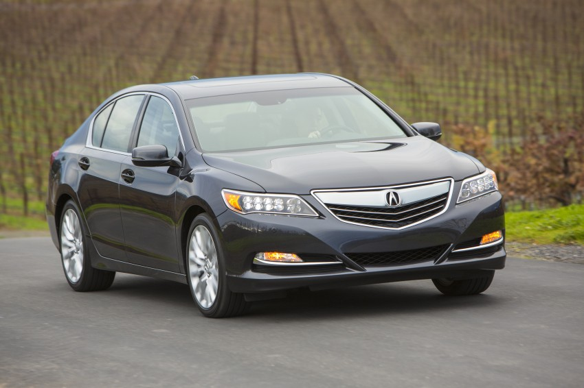 GALLERY: All-new 2014 Acura RLX – Honda's 5-Series Image #155168