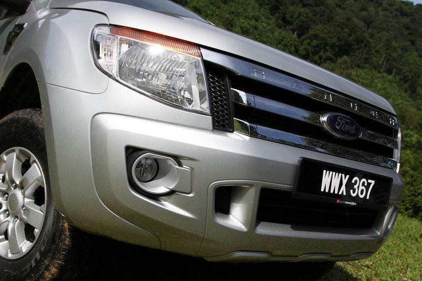 TESTED: Ford Ranger XLT 2.2 Manual driven in all jungles – the concrete one and the green-muddy one Image #116860