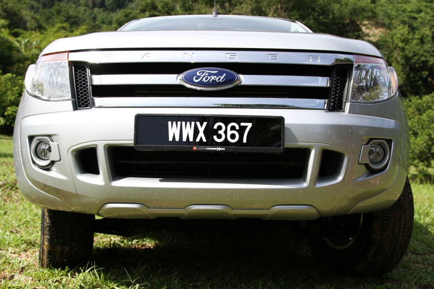 TESTED: Ford Ranger XLT 2.2 Manual driven in all jungles – the concrete one and the green-muddy one Image #116862