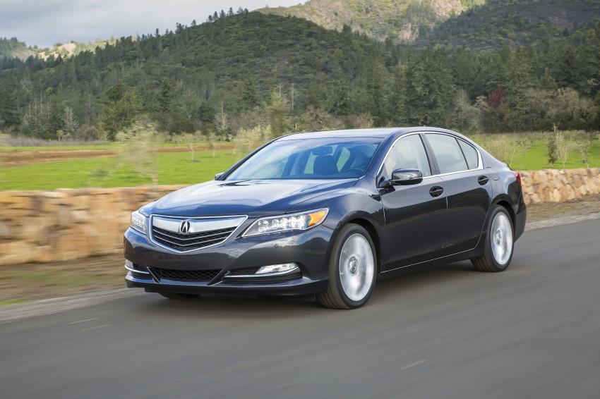 GALLERY: All-new 2014 Acura RLX – Honda's 5-Series Image #155145