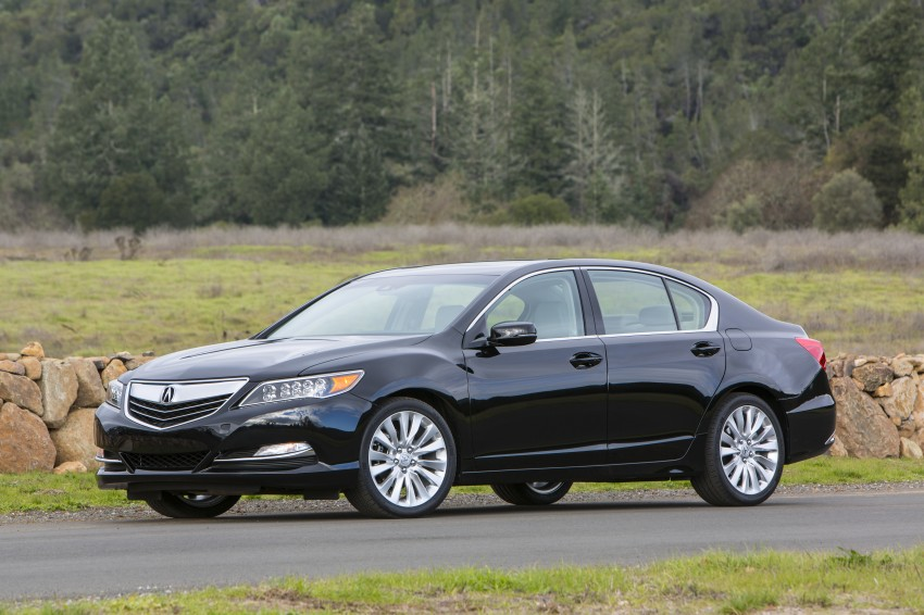 GALLERY: All-new 2014 Acura RLX – Honda's 5-Series Image #155146