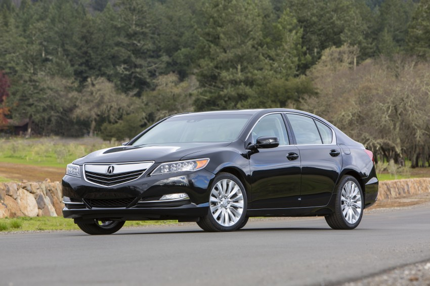 GALLERY: All-new 2014 Acura RLX – Honda's 5-Series Image #155150