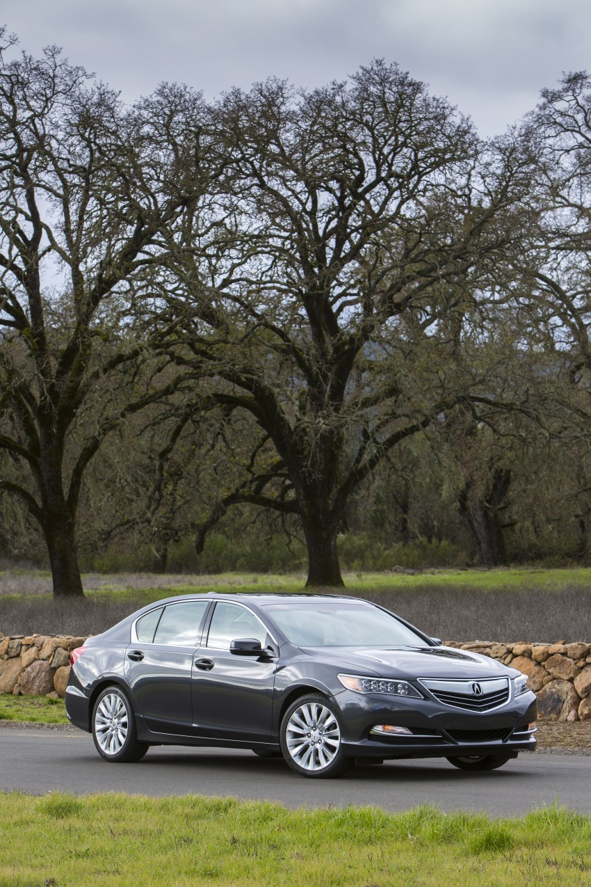 GALLERY: All-new 2014 Acura RLX – Honda's 5-Series Image #155103