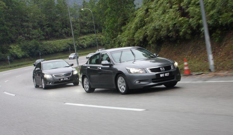 The Japanese D-segment trinity shootout: Honda Accord vs Nissan Teana vs Toyota Camry Image #55169