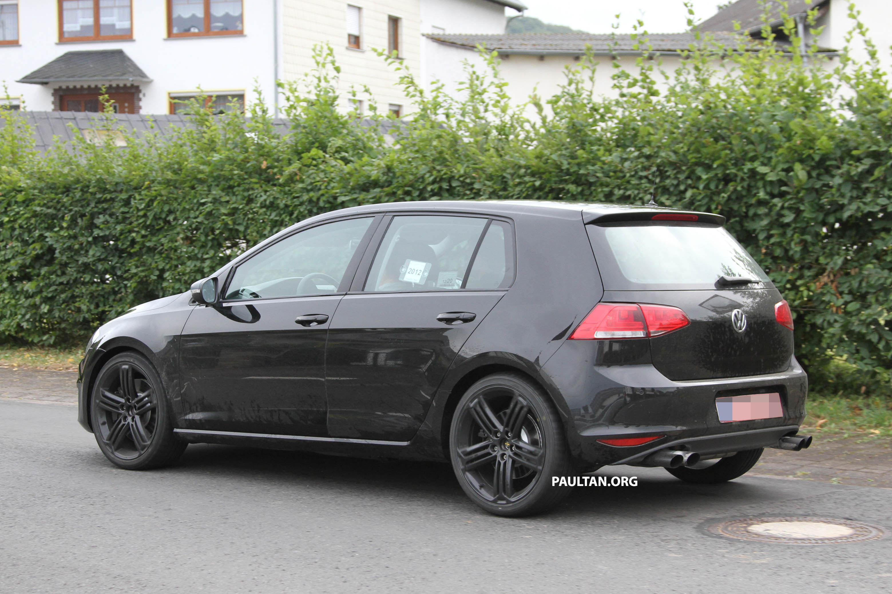 Mk7 Golf R >> Mk7 Volkswagen Golf R prototype testing undisguised Paul Tan - Image 130634