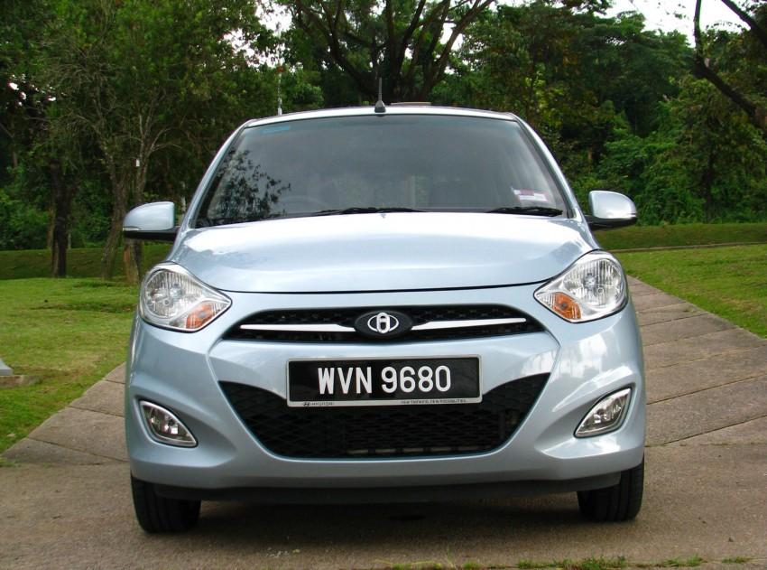 Hyundai i10 full test drive review – a fun econobox Image #108942