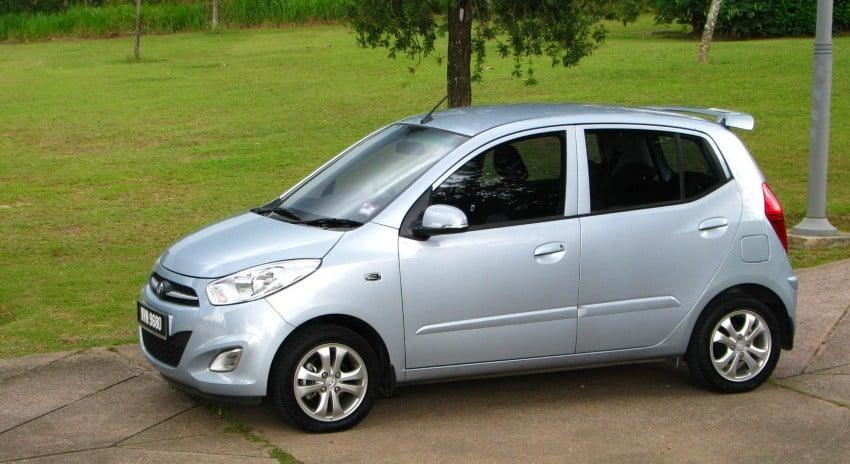 Hyundai i10 full test drive review – a fun econobox Image #108944