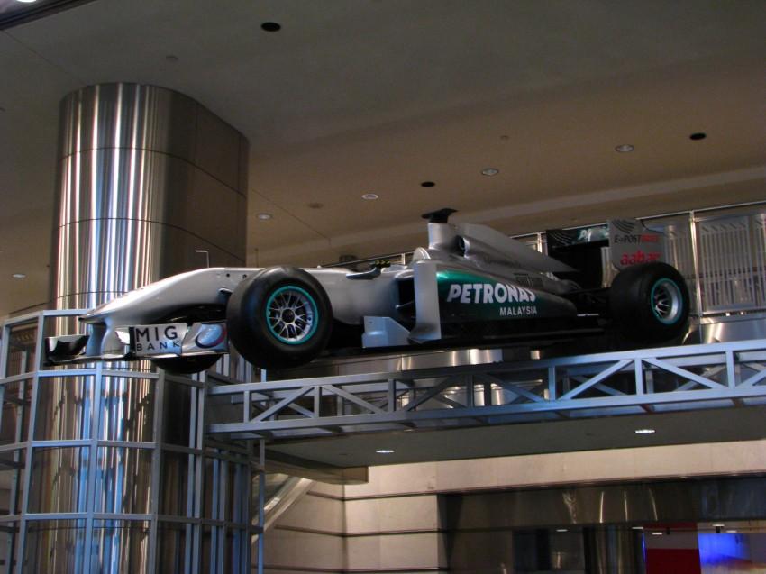 PETRONAS Malaysia Grand Prix Showcase now at KLCC Image #94269