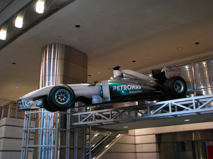 PETRONAS Malaysia Grand Prix Showcase now at KLCC Image #94271