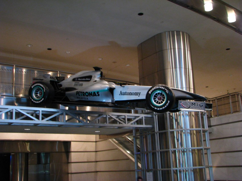 PETRONAS Malaysia Grand Prix Showcase now at KLCC Image #94272