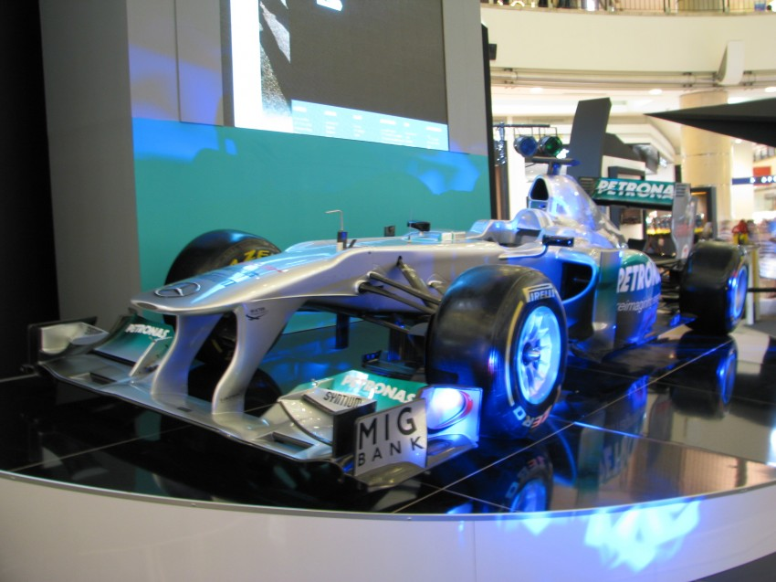 PETRONAS Malaysia Grand Prix Showcase now at KLCC Image #94288