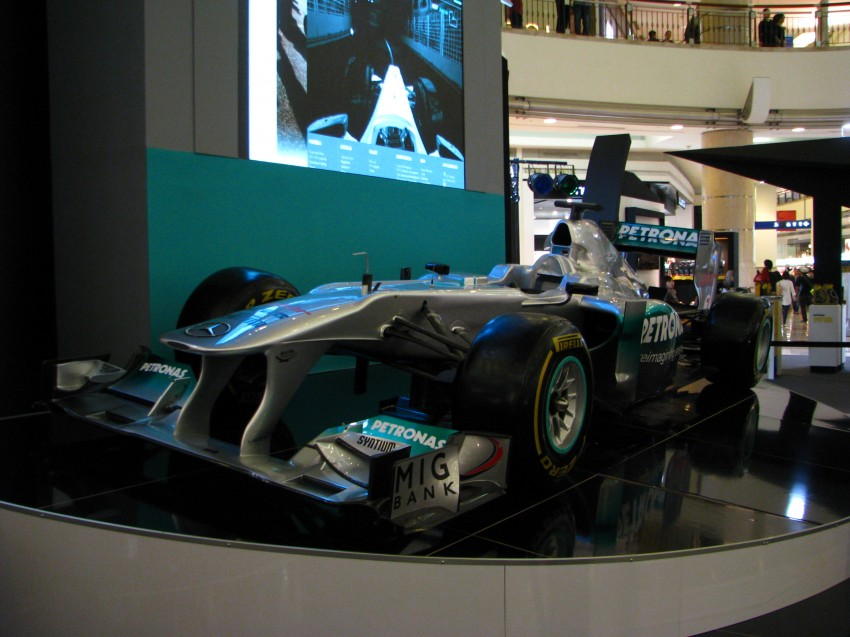PETRONAS Malaysia Grand Prix Showcase now at KLCC Image #94289