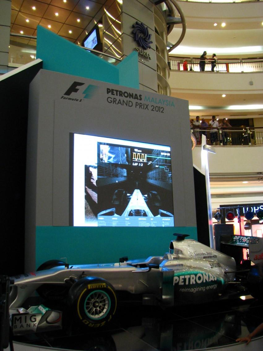PETRONAS Malaysia Grand Prix Showcase now at KLCC Image #94290
