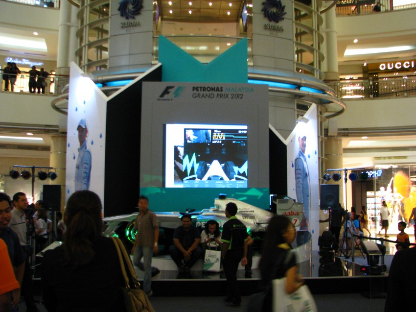 PETRONAS Malaysia Grand Prix Showcase now at KLCC Image #94291