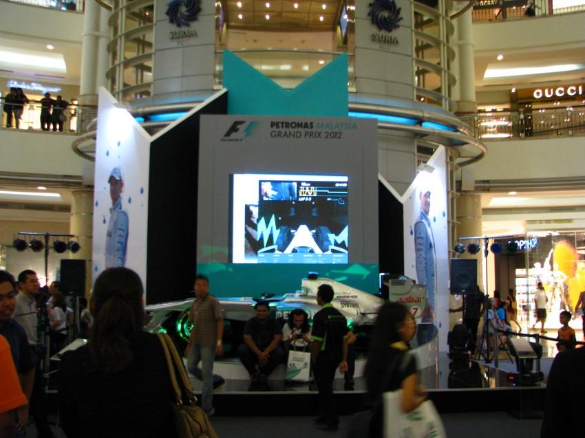 PETRONAS Malaysia Grand Prix Showcase now at KLCC Image #94291