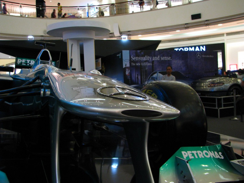PETRONAS Malaysia Grand Prix Showcase now at KLCC Image #94292