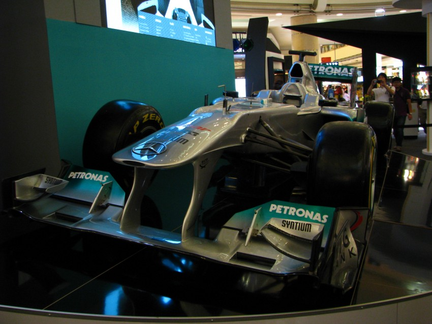PETRONAS Malaysia Grand Prix Showcase now at KLCC Image #94294