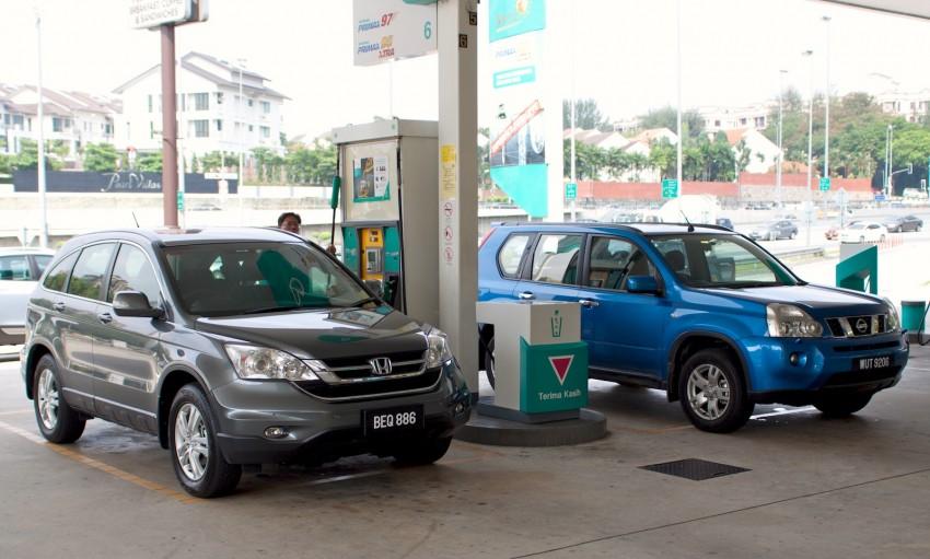 SUV shootout: Mitsubishi ASX vs Nissan X-Trail vs Honda CR-V vs Hyundai Tucson vs Peugeot 3008! Image #80457