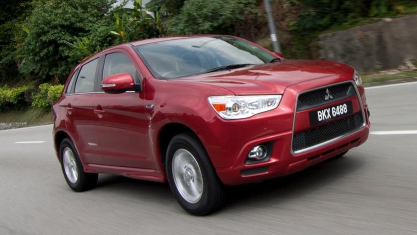 SUV shootout: Mitsubishi ASX vs Nissan X-Trail vs Honda CR-V vs Hyundai Tucson vs Peugeot 3008! Image #80367