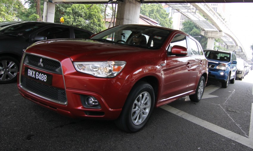 SUV shootout: Mitsubishi ASX vs Nissan X-Trail vs Honda CR-V vs Hyundai Tucson vs Peugeot 3008! Image #80407