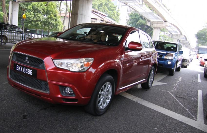 SUV shootout: Mitsubishi ASX vs Nissan X-Trail vs Honda CR-V vs Hyundai Tucson vs Peugeot 3008! Image #154126