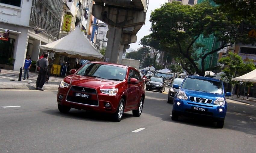 SUV shootout: Mitsubishi ASX vs Nissan X-Trail vs Honda CR-V vs Hyundai Tucson vs Peugeot 3008! Image #80365