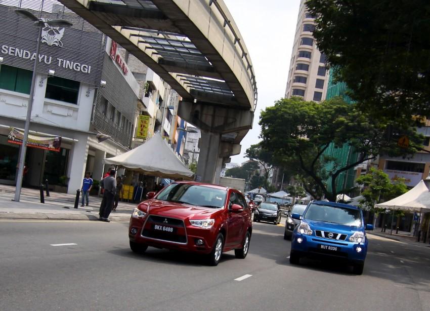 SUV shootout: Mitsubishi ASX vs Nissan X-Trail vs Honda CR-V vs Hyundai Tucson vs Peugeot 3008! Image #80463