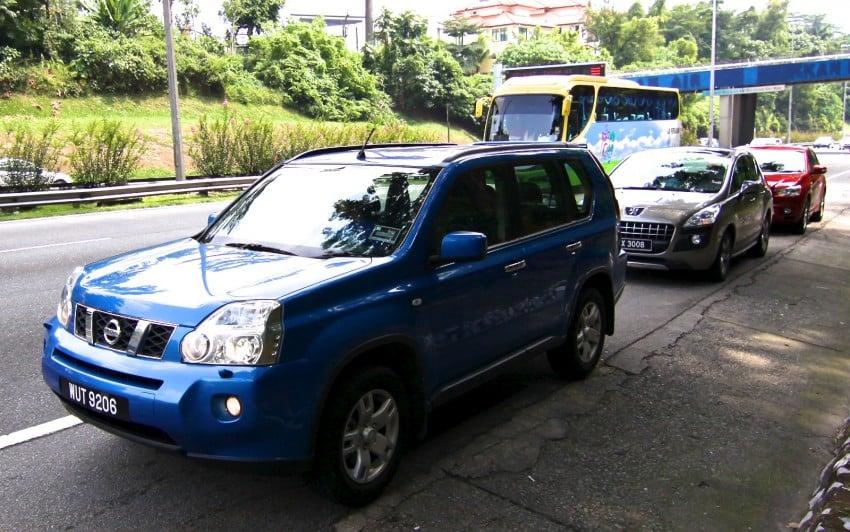 SUV shootout: Mitsubishi ASX vs Nissan X-Trail vs Honda CR-V vs Hyundai Tucson vs Peugeot 3008! Image #154071