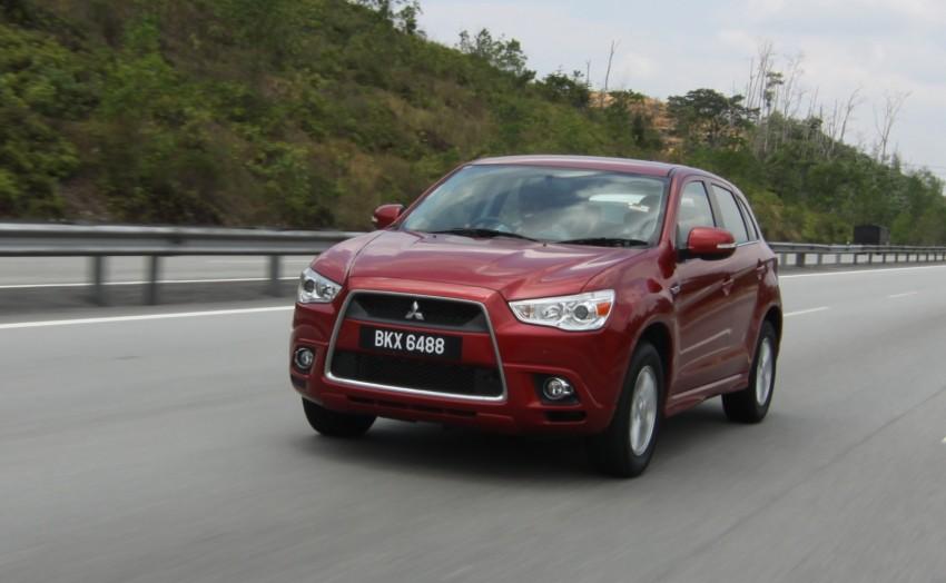 SUV shootout: Mitsubishi ASX vs Nissan X-Trail vs Honda CR-V vs Hyundai Tucson vs Peugeot 3008! Image #154125