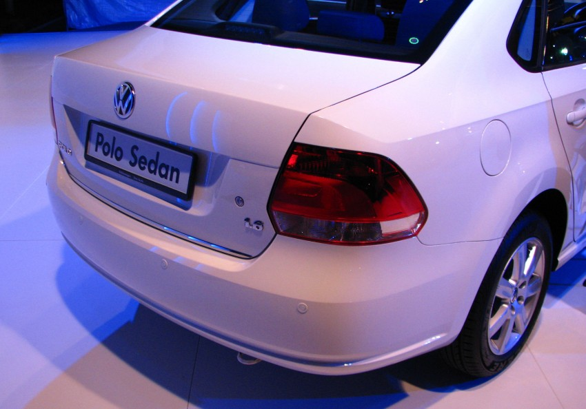 Volkswagen Polo Sedan launched – RM99,888 Image #101589