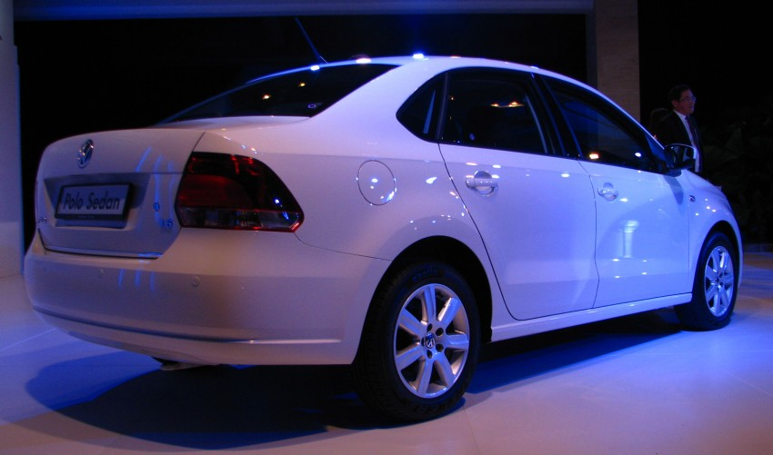 Volkswagen Polo Sedan launched – RM99,888 Image #101596