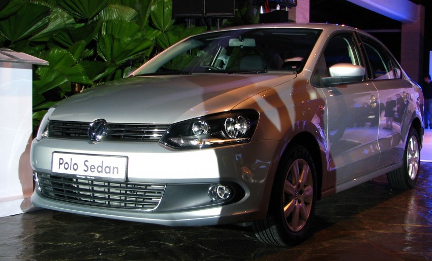 Volkswagen Polo Sedan launched – RM99,888 Image #101595